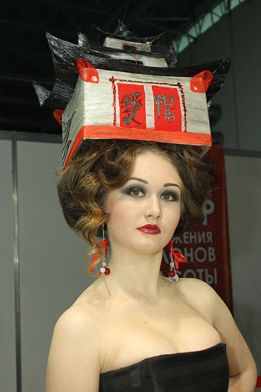 Модная стрижка женская
